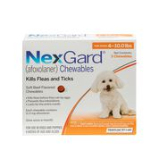 NexGard Chewables 3pk 4-10 lbs-product-tile