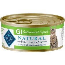 BLUE Natural Veterinary Diet GI Gastrointestinal Support- Canned Cat Food-product-tile