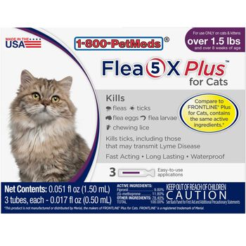 Flea5X Plus 12pk Cats product detail number 1.0