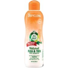 TropiClean Natural Flea & Tick Maximum Strength Shampoo-product-tile