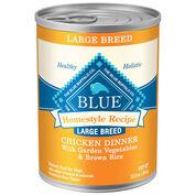 Blue Buffalo Homestyle Recipe Large Breed Canned Dog Food-product-tile