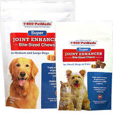 Super Joint Enhancer Bite-Sized Chews Small Dogs & Cats 60 ct-product-tile