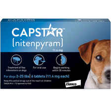Capstar Flea Treatment Tablets-product-tile