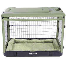 The Super Dog Crate with Cozy Bed-product-tile