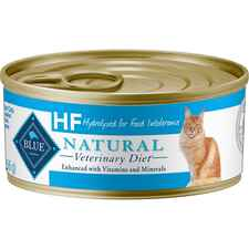 BLUE Natural Veterinary Diet HF Hydrolyzed for Food Intolerance Grain-Free Wet Cat Food-product-tile