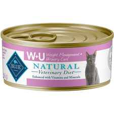BLUE Natural Veterinary Diet W+U Weight Management + Urinary Care Canned Cat Food-product-tile