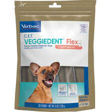 C.E.T. VEGGIEDENT Flex Tartar Control Chews for Dogs-product-tile