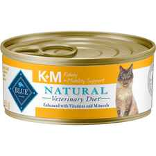 BLUE Natural Veterinary Diet K+M Kidney + Mobility Support Canned Cat Food-product-tile