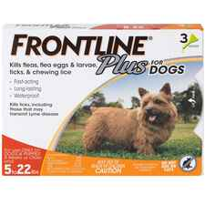 Frontline Plus 3pk Dogs 5-22 lbs-product-tile