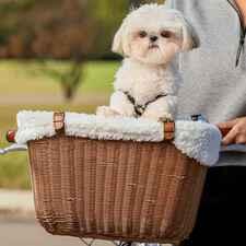 PetSafe Wicker Dog Bicycle Basket-product-tile