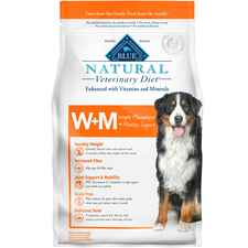 BLUE Natural Veterinary Diet W+M Weight Management + Mobility Support Grain-Free Dry Dog Food-product-tile