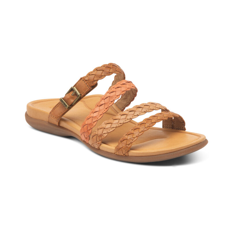 Shop Aetrex Brielle Slip On Sandal
