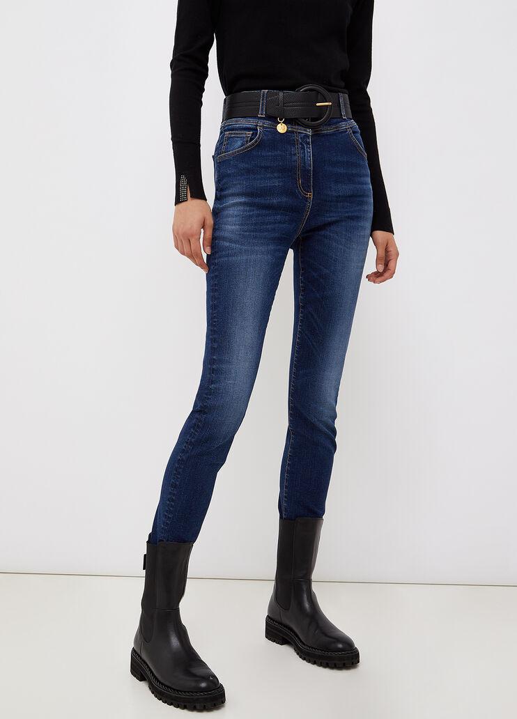 Jeans slim fit ecosostenibile denim blu scuro Liu Jo - medium
