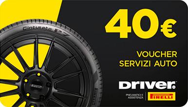 voucher Driver Pirelli