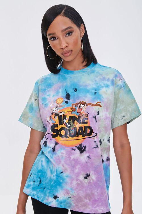 Tie-Dye Tune Squad Graphic Tee, image 2