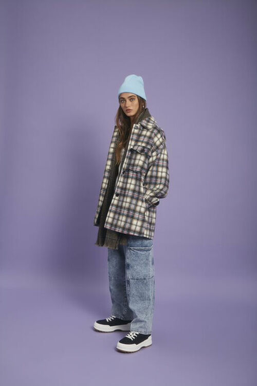 Relaxed Acid Wash Jeans, image 1