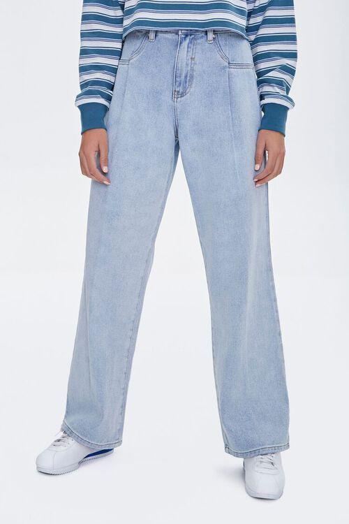 High-Waist Wide-Leg Jeans, image 2