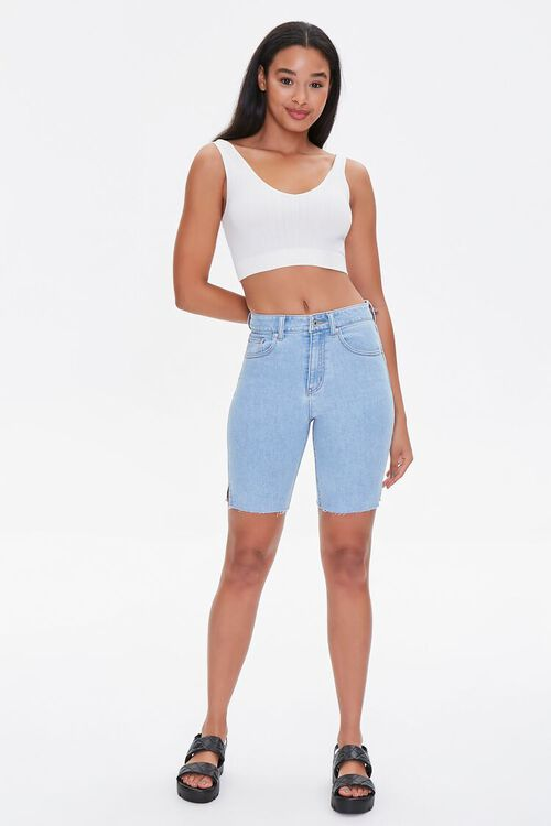 Denim Bermuda Shorts, image 5