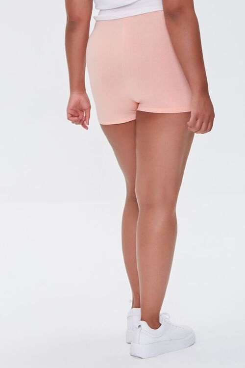 APRICOT Plus Size Basic Organically Grown Cotton Hot Shorts, image 4