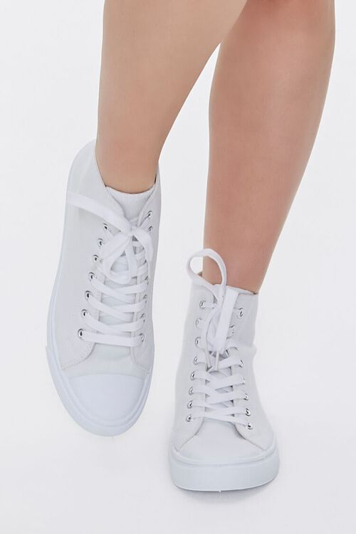 Lace-Up High-Top Sneakers, image 4