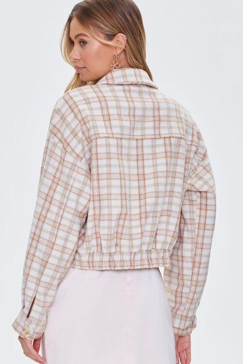 Plaid Button-Front Jacket, image 3