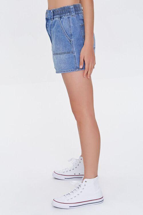 Elasticized Denim Shorts, image 3