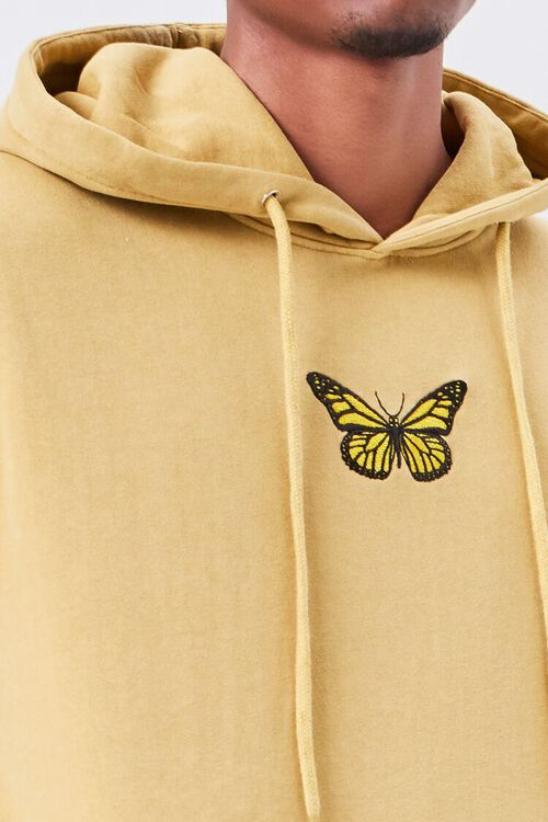Butterfly Embroidered Graphic Hoodie, image 5