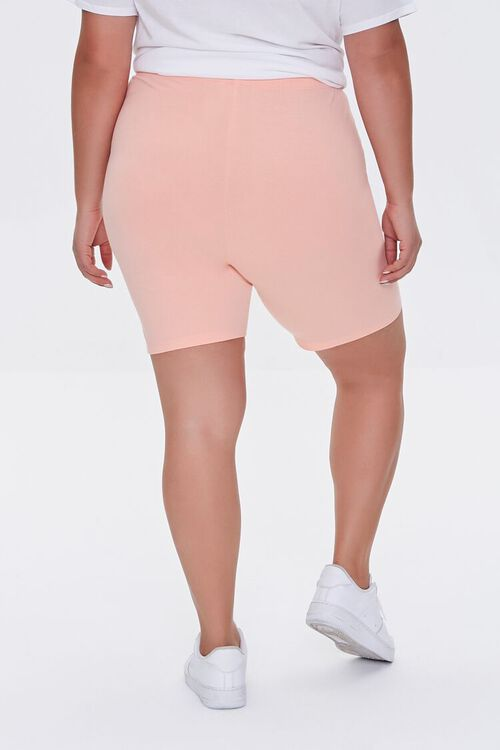 APRICOT Plus Size Organically Grown Cotton Biker Shorts, image 4