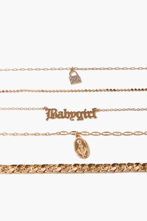 Babygirl Pendant Bracelet Set, image 2