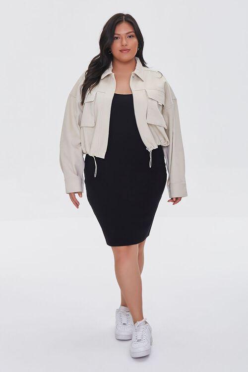 Plus Size Drop-Sleeve Jacket, image 4