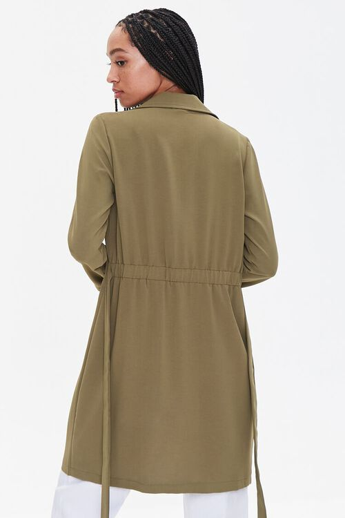 Double-Breasted Duster Jacket, image 3