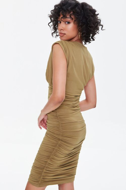 Shirred Bodycon Dress, image 3