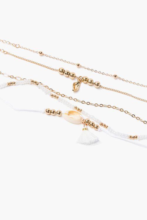 Cowrie Shell Bracelet Set, image 1