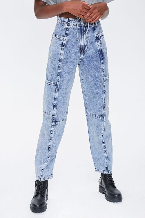 Relaxed Acid Wash Jeans, image 2