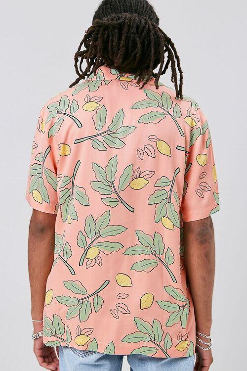 Classic Fit Lemon Print Shirt, image 3