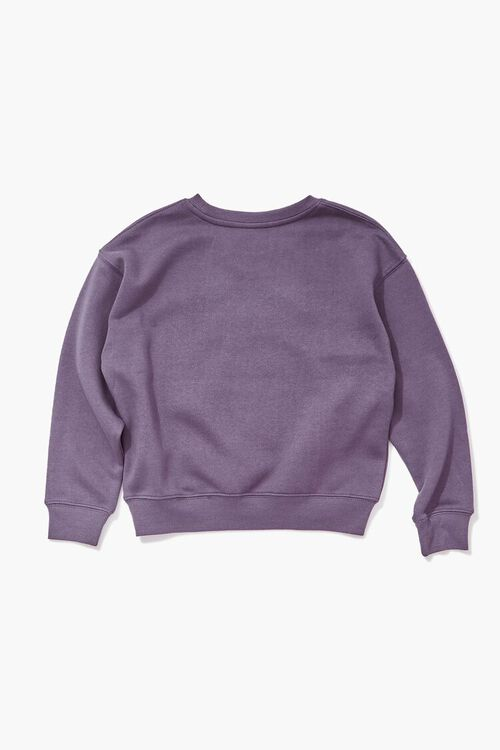 PURPLE/MULTI Girls Selena Graphic Pullover (Kids), image 2