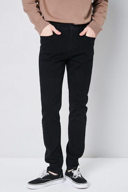 BLACK Basic Skinny Jeans, image 2