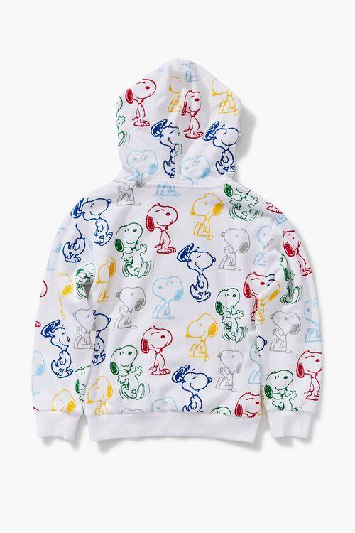 CREAM/MULTI Girls Snoopy Print Hoodie (Kids), image 2