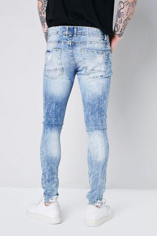 LIGHT DENIM XRay Distressed Stonewash Jeans, image 4