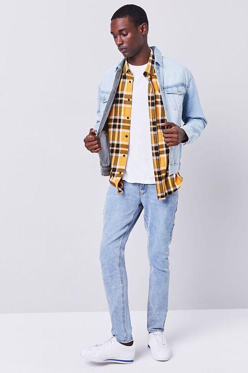 MEDIUM DENIM Stonewash Skinny Jeans, image 5