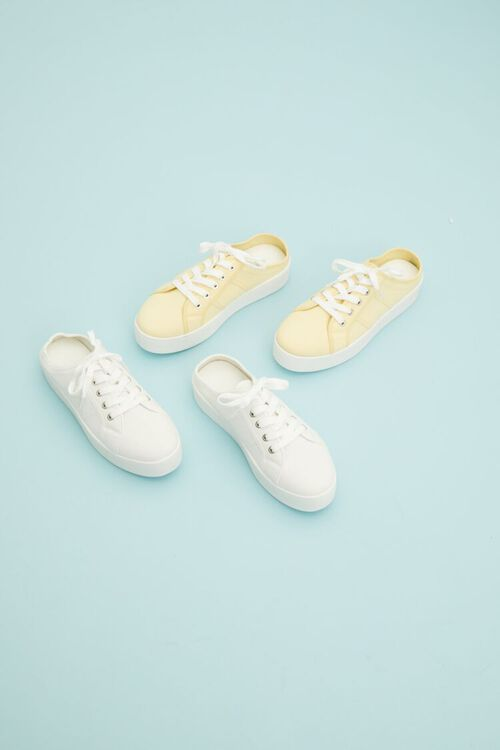 Low-Top Lace-Up Sneakers, image 1