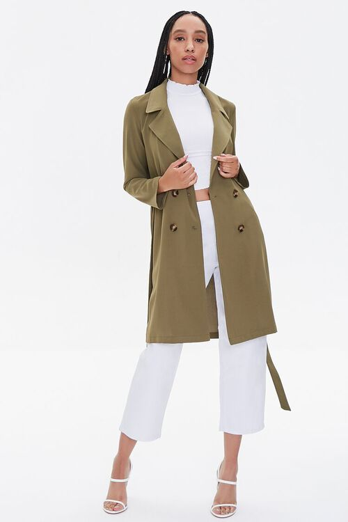 Double-Breasted Duster Jacket, image 4