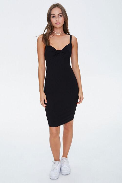 Twist-Front Bodycon Dress, image 4