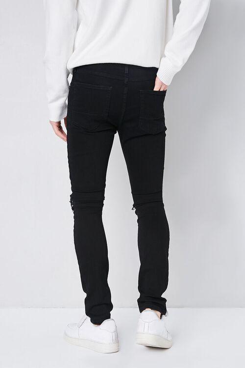 BLACK Premium Distressed Skinny Jeans, image 4