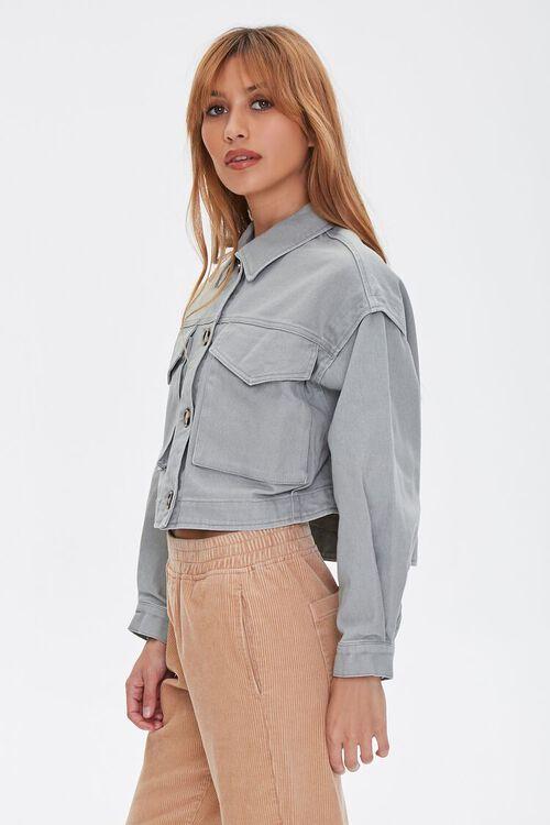 Cotton Button-Up Jacket, image 2