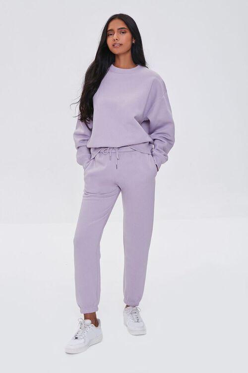 Basic Fleece Crew Pullover, image 4