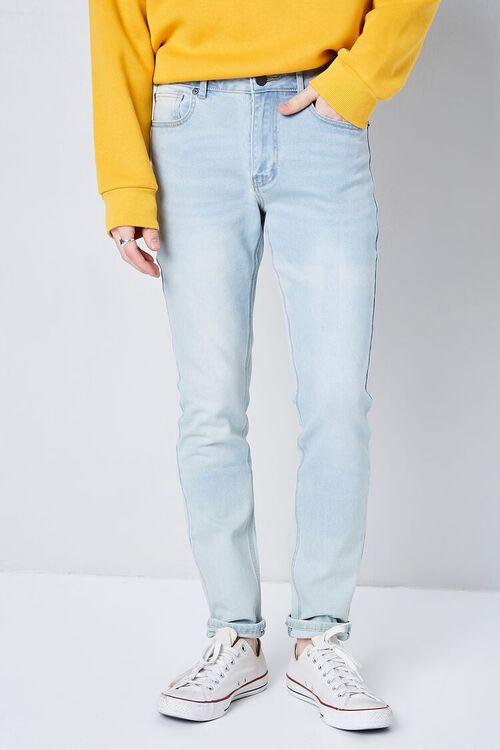 LIGHT DENIM Core Slim-Fit Jeans, image 2