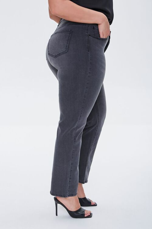 Plus Size Recycled Straight Jeans, image 3