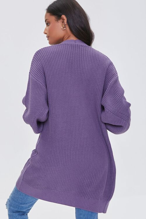 Open-Front Cardigan Sweater, image 3