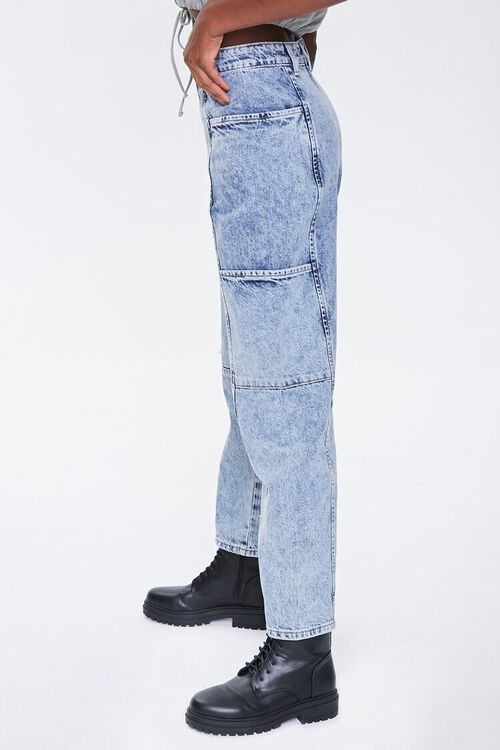 Relaxed Acid Wash Jeans, image 3